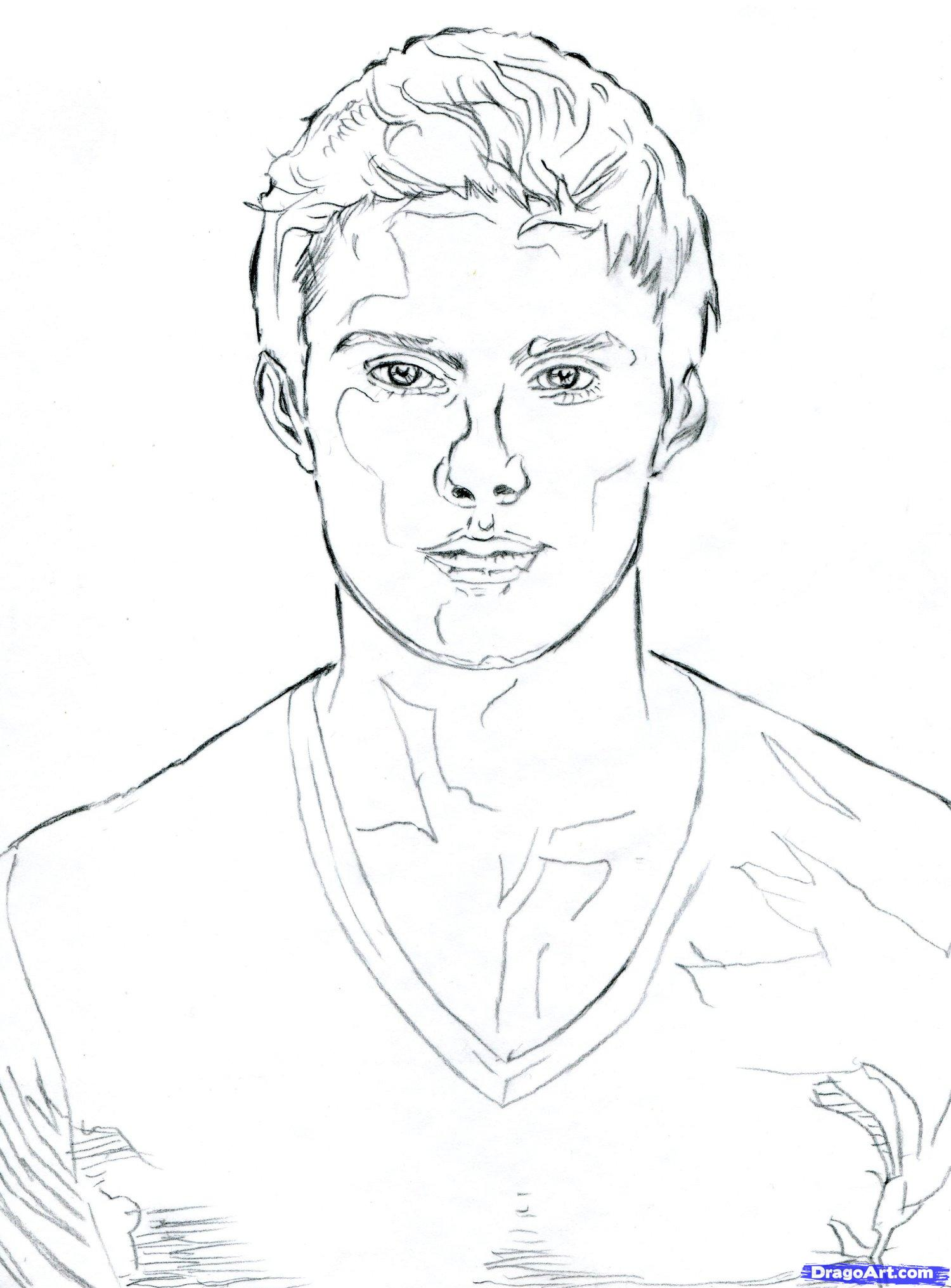 Hunger games 2 coloriage sur hunger games coloriages - Coloriage personnage ...
