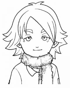 Dessin de Inazuma Eleven gratuit à télécharger et colorier