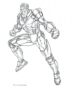 coloriage-iron-man-8