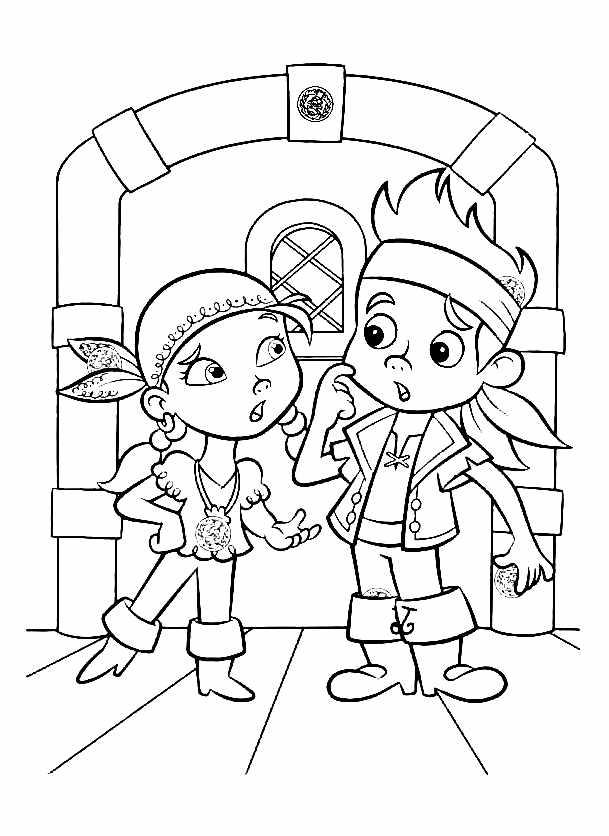 Jake et les pirates 4 coloriage de jake et les pirates du pays image de jake et les pirates imprimer et colorier altavistaventures Choice Image