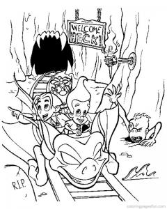 Image de Jimmy Neutron à imprimer et colorier