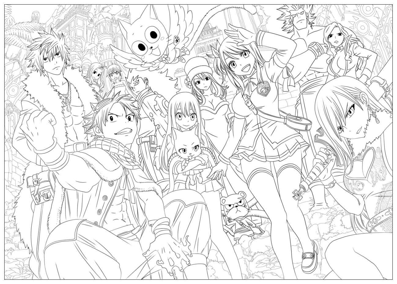 Kawaii Personnages Fun Tobeyd Coloriage Kawaii Coloriages Pour