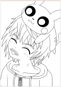 Coloriage Kawaii Disney.Coloriage Kawaii Coloriages Pour Enfants
