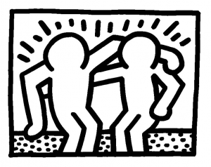 coloriage-keith-haring-11 free to print