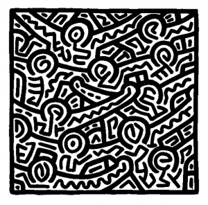 coloriage-keith-haring-16 free to print