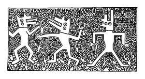coloriage-keith-haring-18 free to print