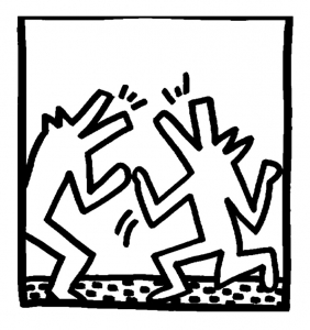 coloriage-keith-haring-7 free to print