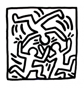 coloriage-keith-haring-9 free to print