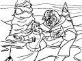 Image de La belle et la bete à télécharger et colorier