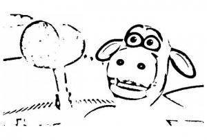 Image de La Ferme en folie à télécharger et colorier