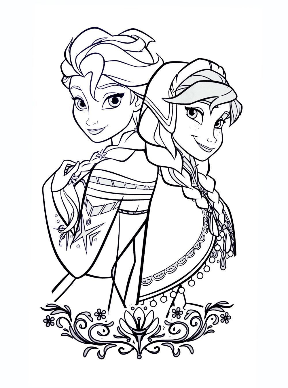 La reine des neiges disney 1 coloriage la reine des - Coloriage princesse des neiges ...