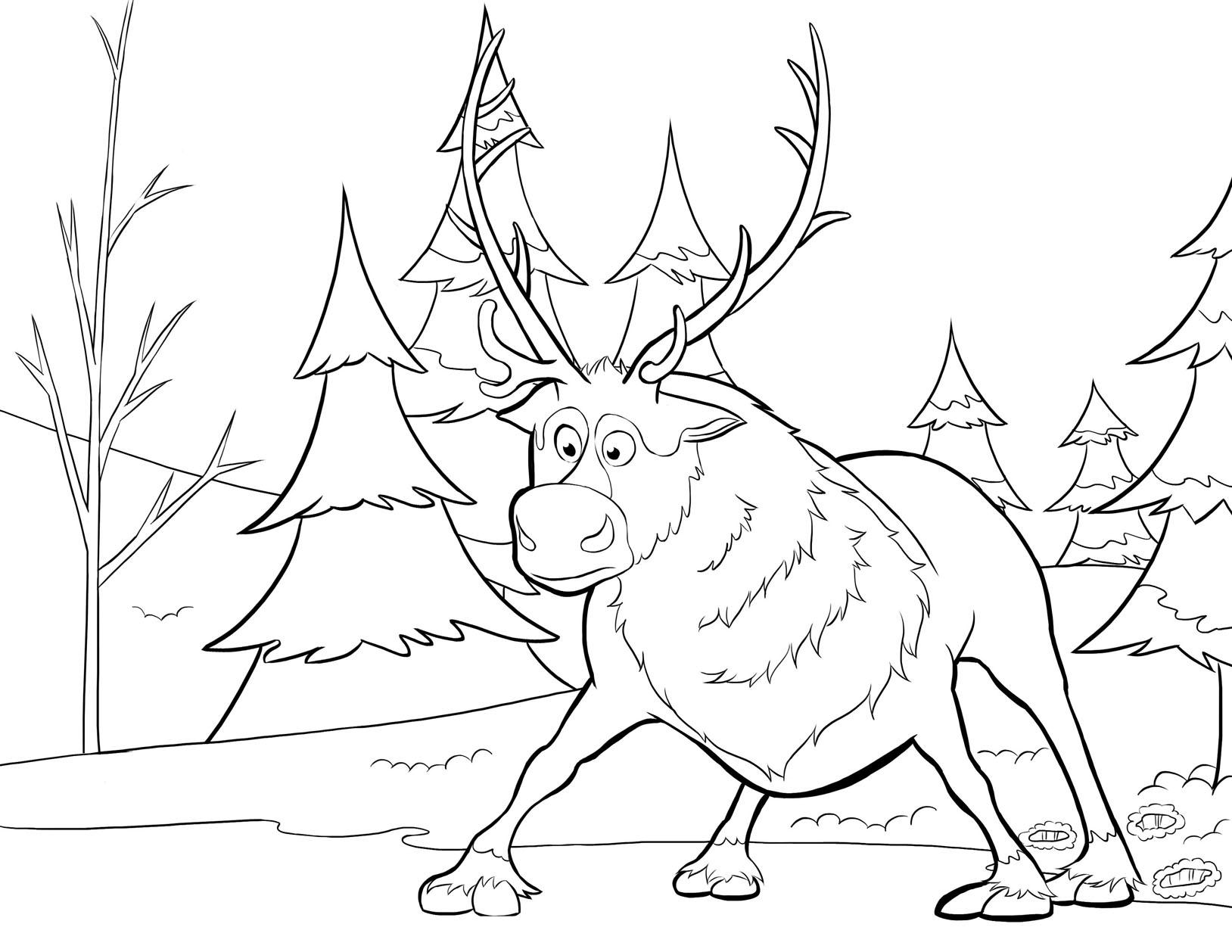 La reine des neiges disney 2 coloriage la reine des neiges coloriages pour enfants - Coloriage de neige ...