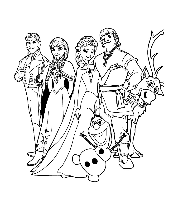 Häufig Reine neige disney cast | Coloriage La reine des neiges  PH12