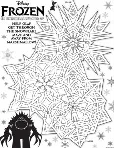 coloriage-la-reine-de-glace-1 free to print