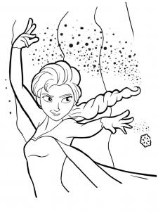 Coloriage La Reine Des Neiges Coloriages Pour Enfants Page 4