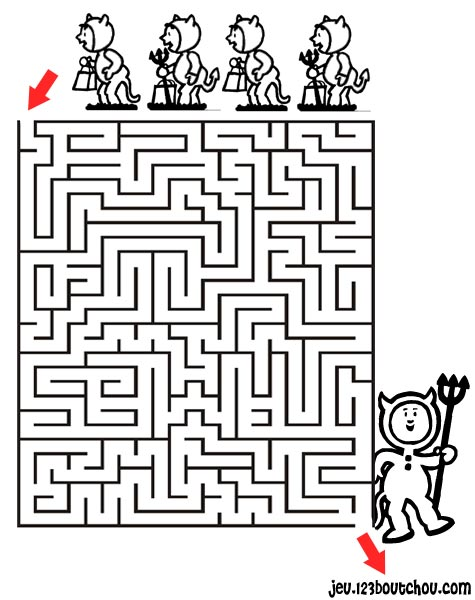 Jeu coloriage labyrinthe labyrinthes colorier - Labyrinthe difficile ...