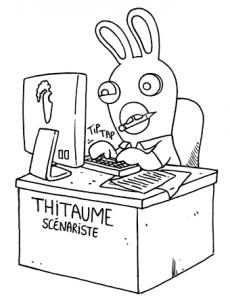Image de Lapins crétins à imprimer et colorier