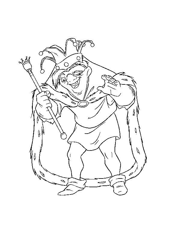 Quasimodo issu du dessin animé de Disney Le Bossu de Notre Dame