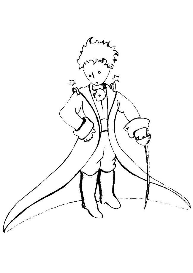 Favori Le petit prince 6 | Coloriage Le Petit Prince - Coloriages pour  NT77