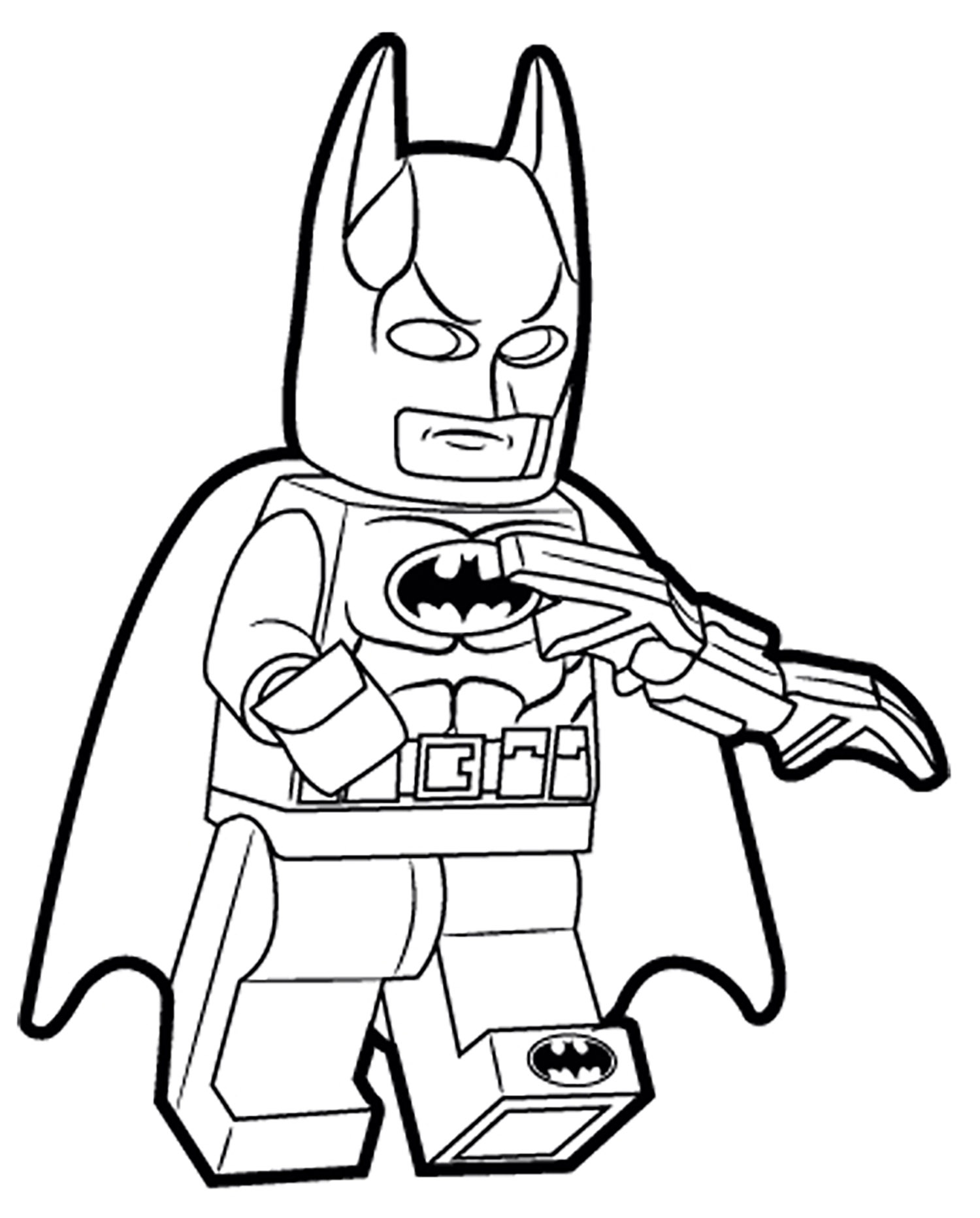 Lego batman 1 coloriage lego batman coloriages pour enfants - Coloriage batman ...