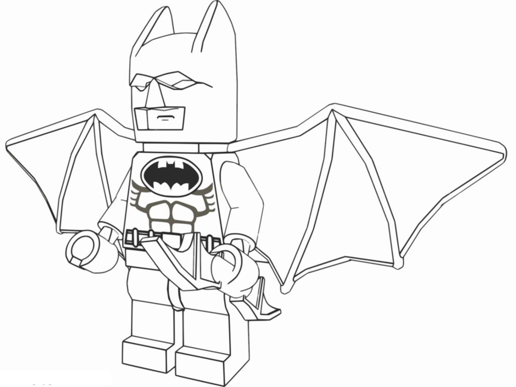 Les ailes déployées, Batman prêt à l'attaque