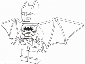 Coloriage enfant lego batman 3