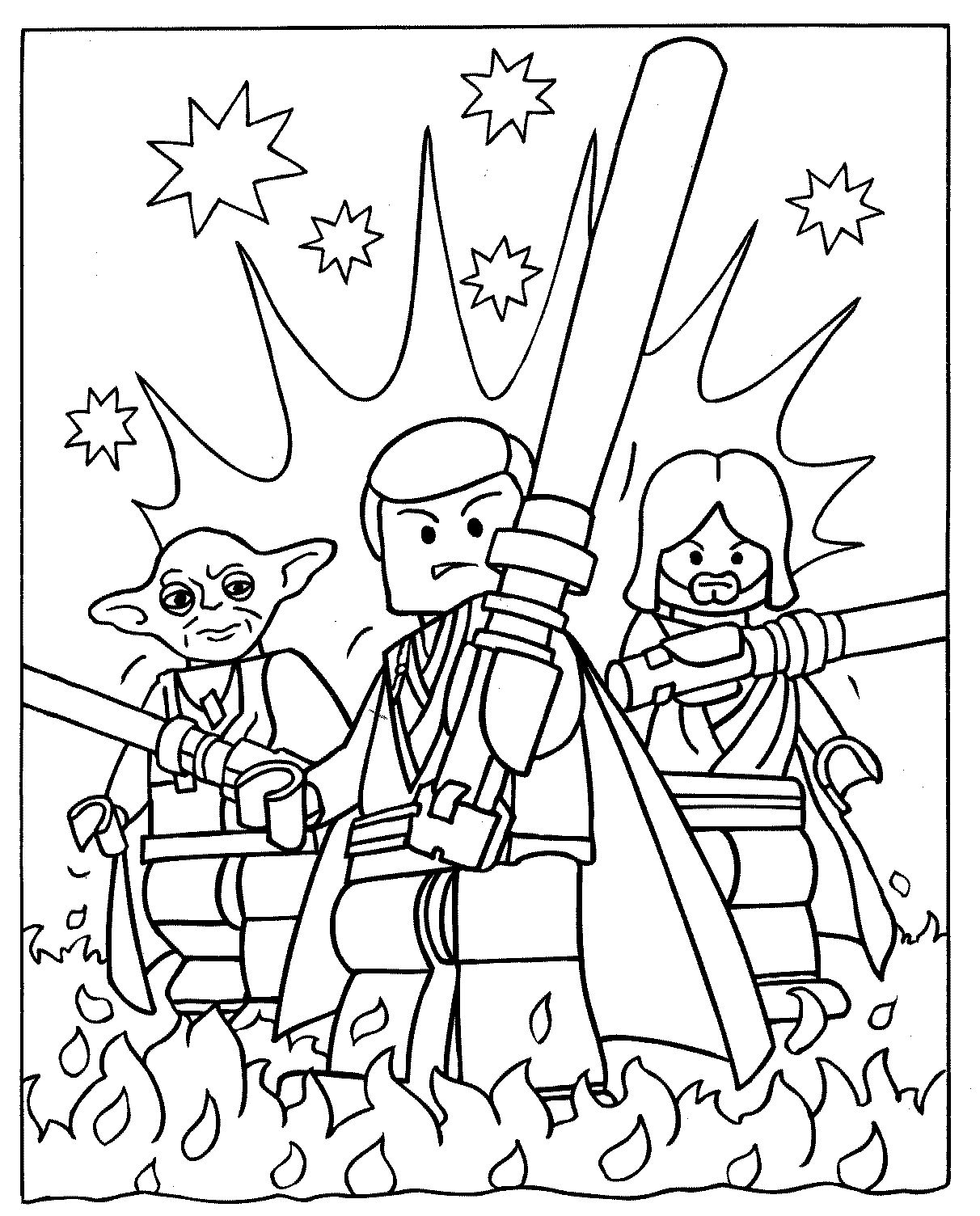 Lego starwars coloriage legos coloriages pour enfants - Coloriage spiderman 1 ...