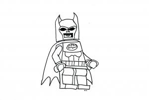 coloriage-lego-batman free to print
