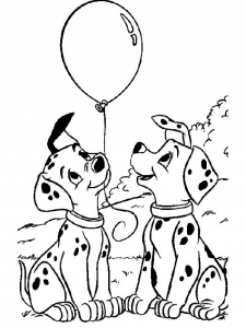 Coloriages 101 dalmatiens disney 1