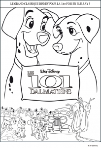 Coloriages 101 dalmatiens disney 3