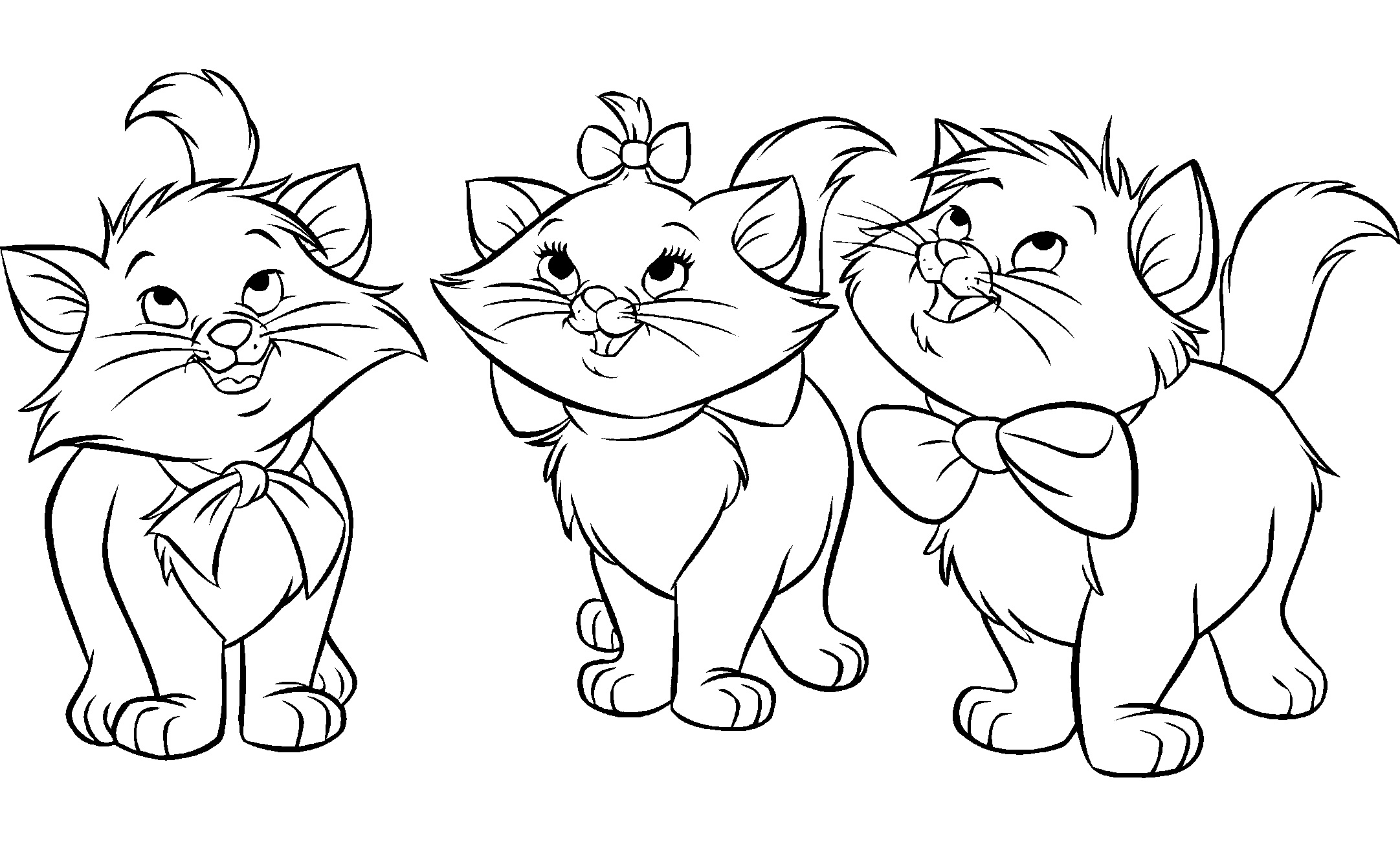 Aristochats disney 199 coloriage les aristochats - Coloriage aristochat ...