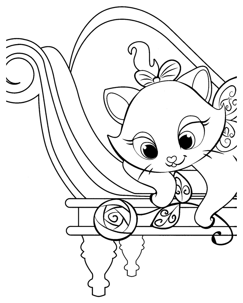 Aristochats disney 2 coloriage les aristochats coloriages pour enfants - Dessin a colorier noel disney ...