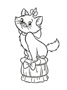 coloriage-aristochats-disney-2 free to print
