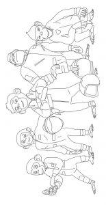Coloriage_chimpanzes espace 6