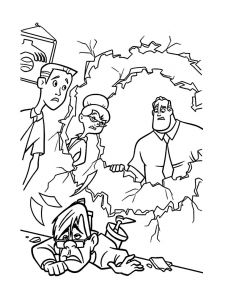 coloriage-les-indestructibles-disney-11 free to print
