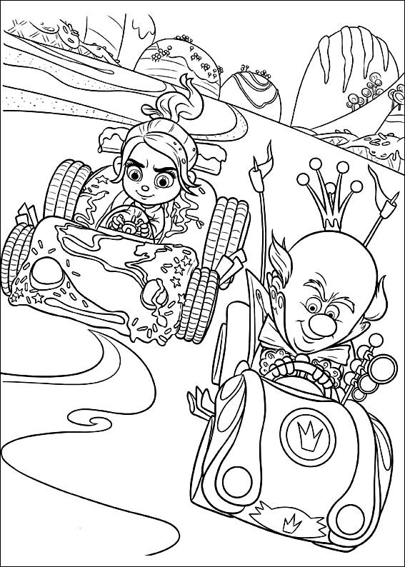 Les mondes de ralph 3 coloriage les mondes de ralph coloriages pour enfants - Dessin anime les mondes de ralph ...