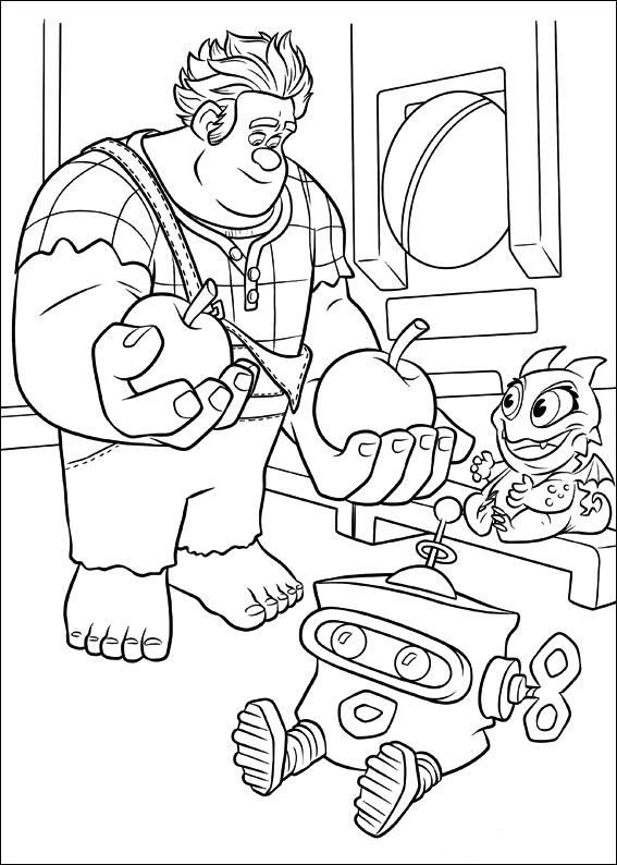Ralph avec des personnages de jeux vidéo