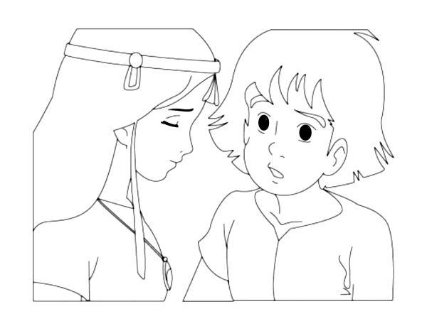 Les Mysterieuses Cites D Or 3 Coloriage Les Mysterieuses Cites D Or Coloriages Pour Enfants