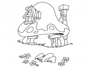 coloriage_schtroumpf-3 free to print