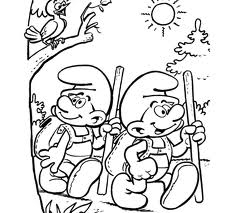 coloriage_schtroumpf-4 free to print