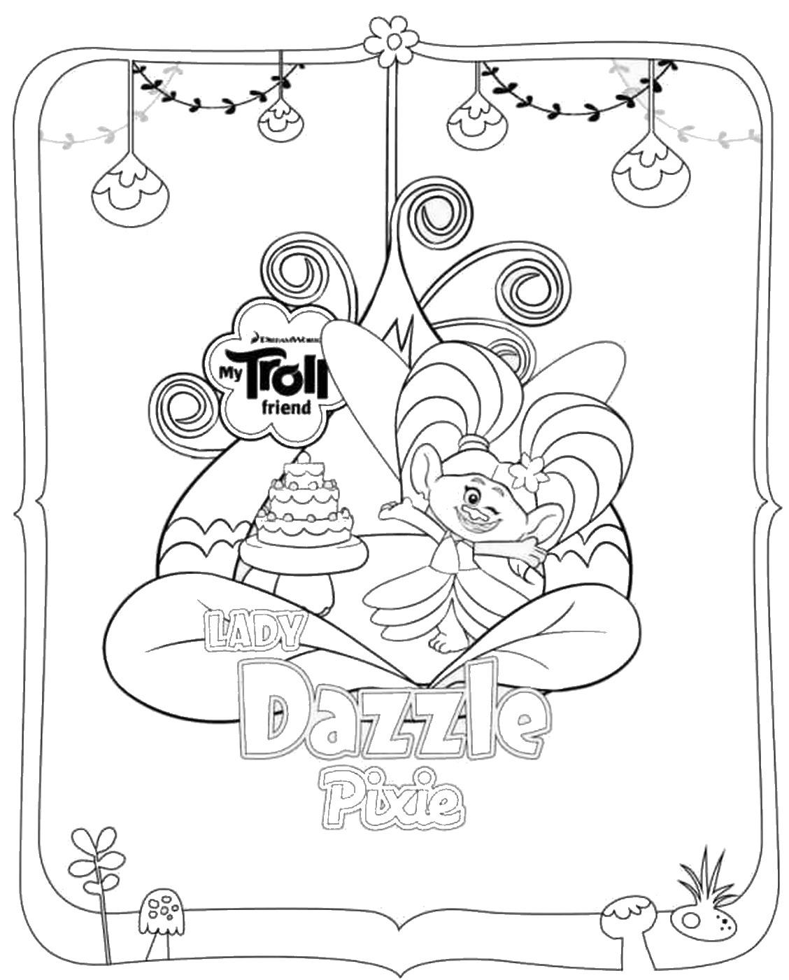 Les Trolls : Lady Dazzle Pixie