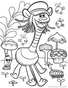coloriage-les-trolls-cooper free to print