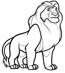 Grand lion