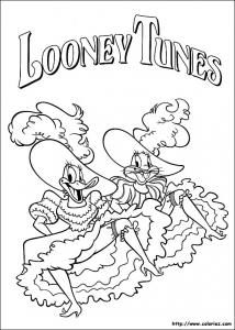 coloriage looney tunes 10