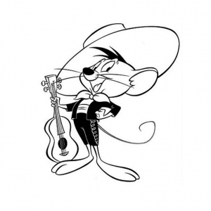 coloriage looney tunes 8