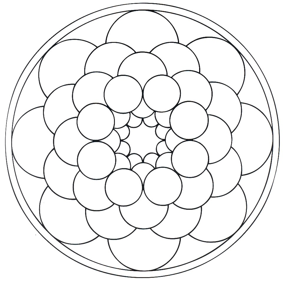 Mandala a imprimer 10 coloriage mandalas coloriages - Mandala a colorier a imprimer ...