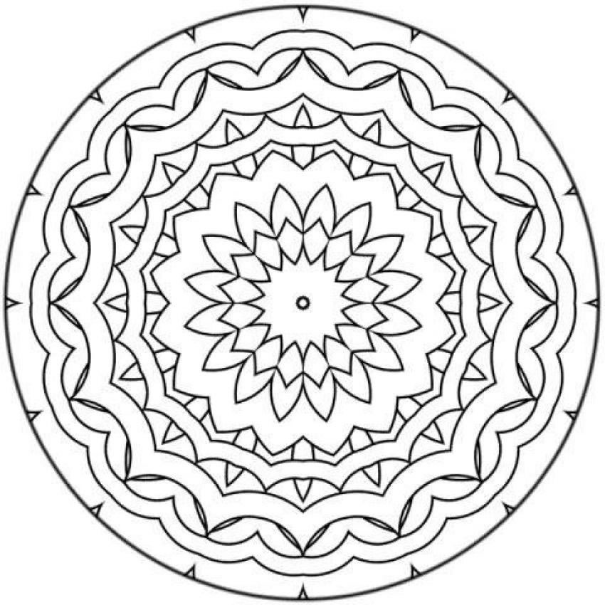 Mandala a imprimer 11 coloriage mandalas coloriages pour enfants - Madala a imprimer ...