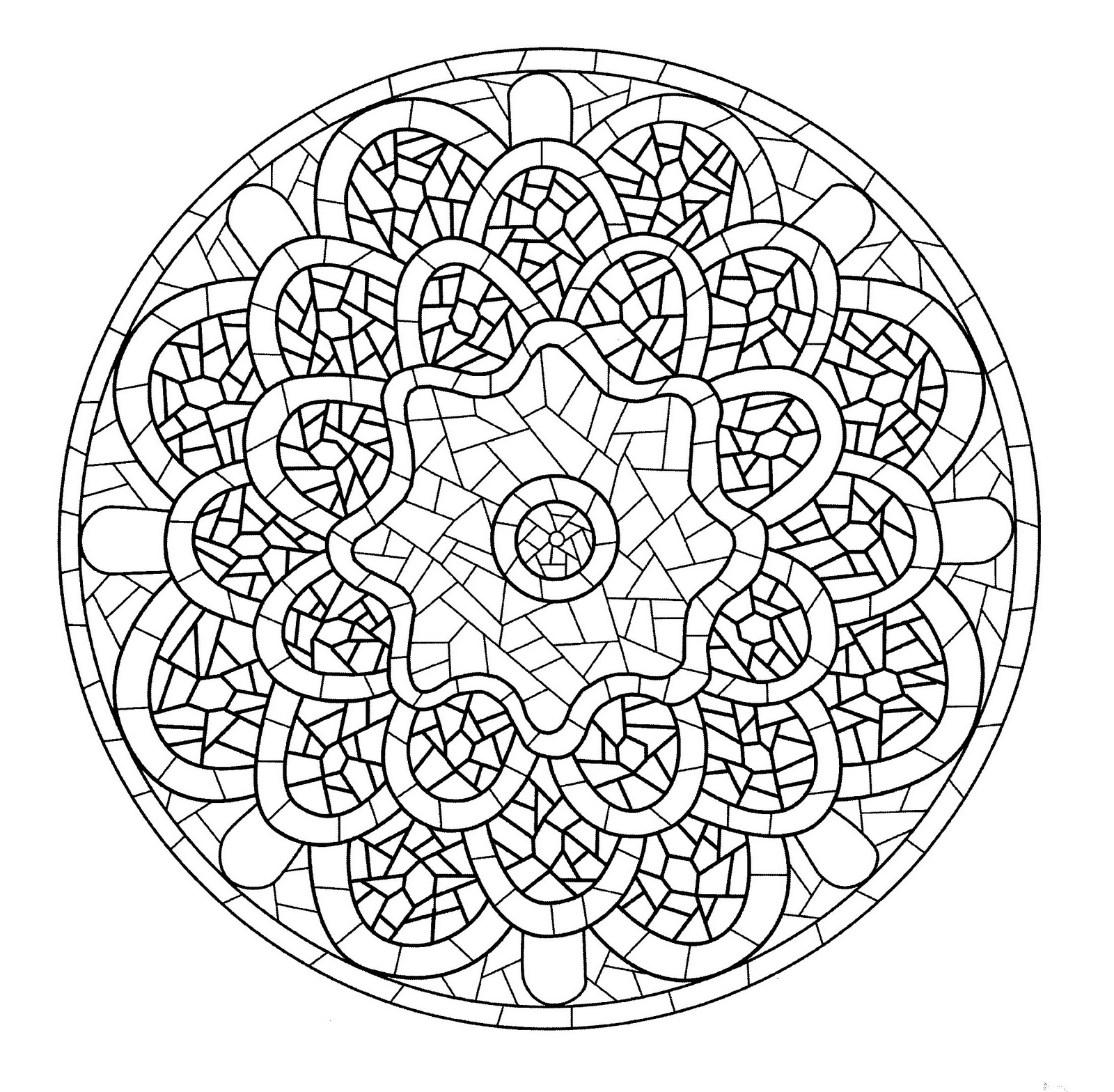 mandala a imprimer 13 coloriage mandalas coloriages pour enfants page 3. Black Bedroom Furniture Sets. Home Design Ideas