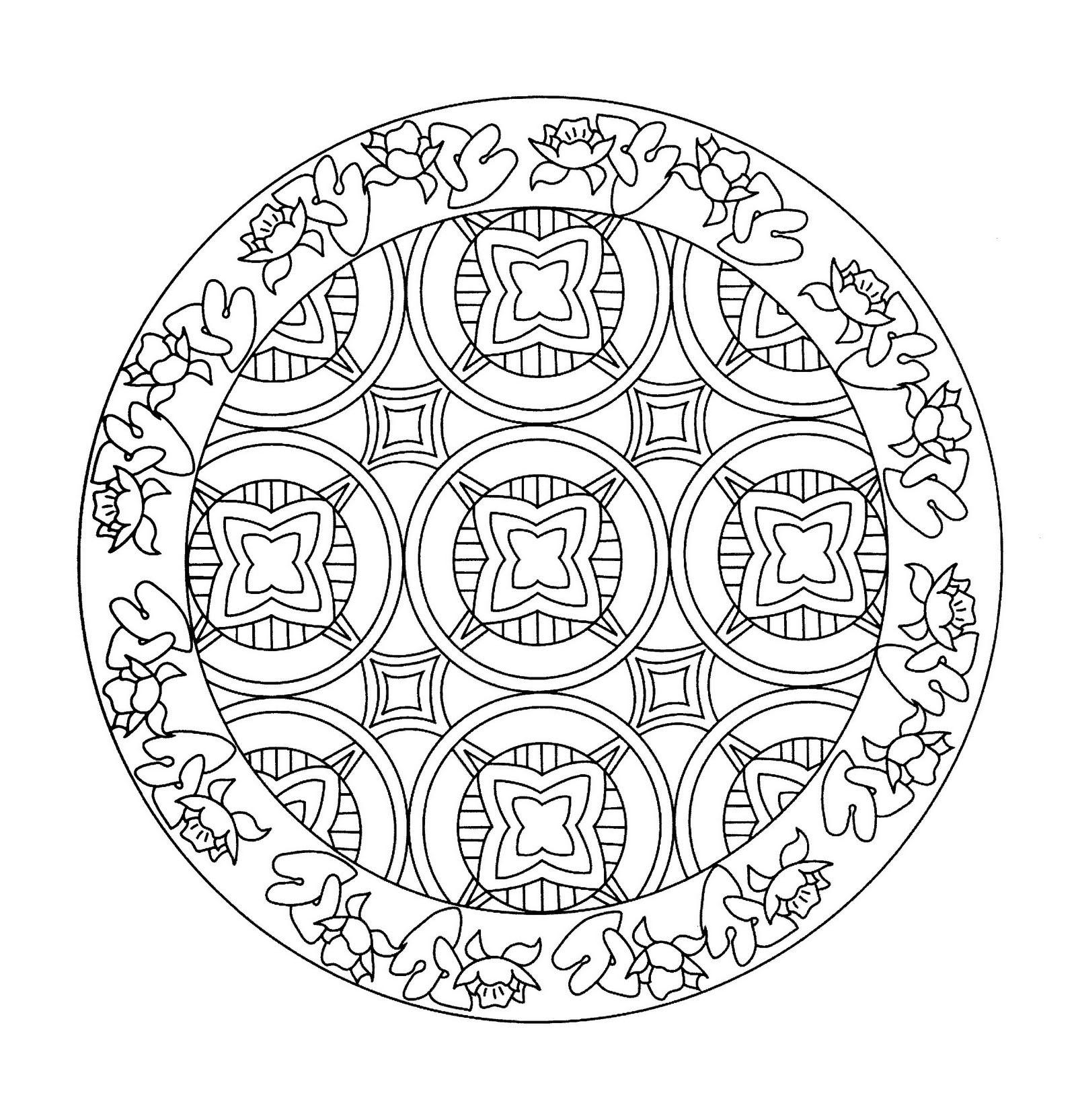 Mandala a imprimer 15