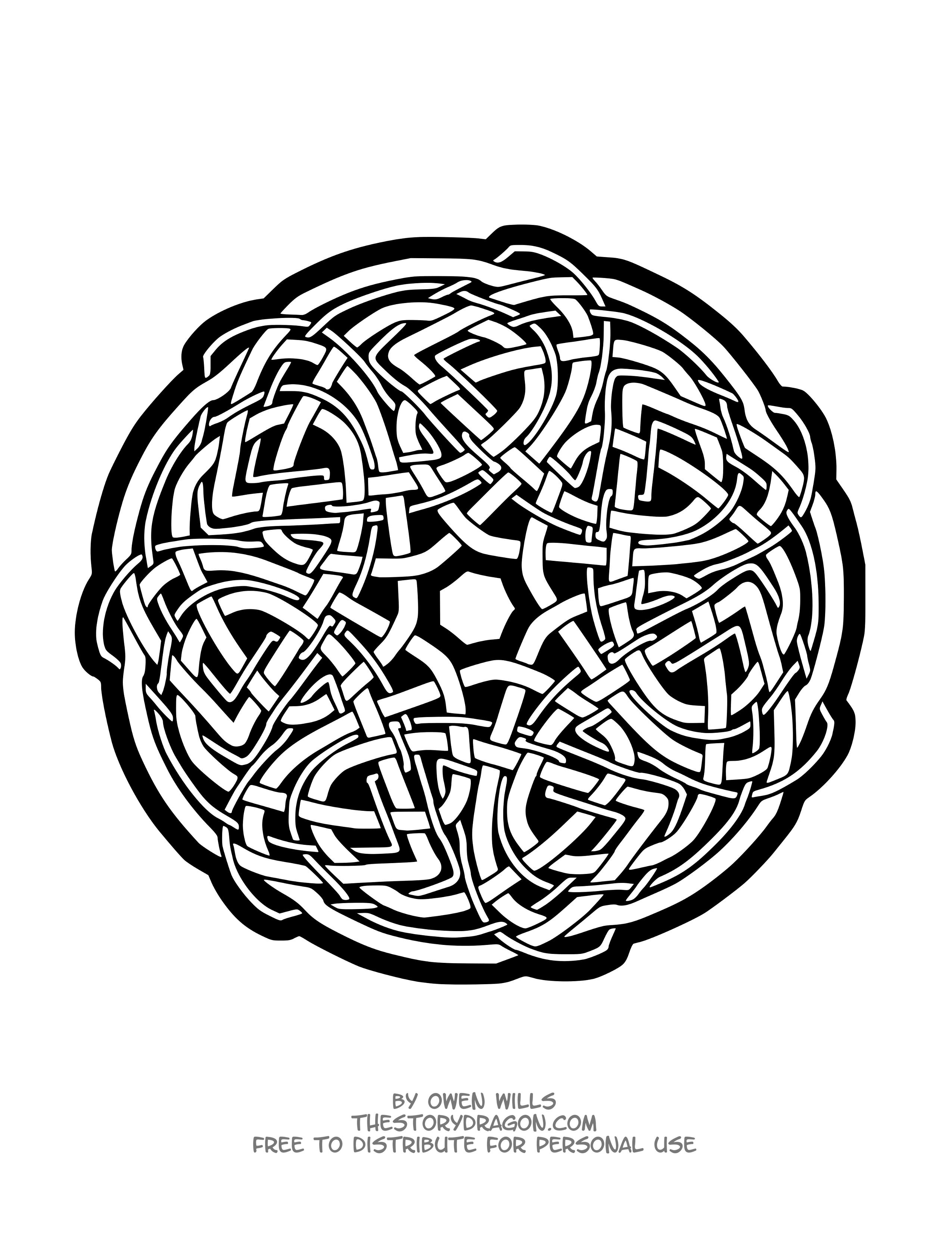 Mandala celtique